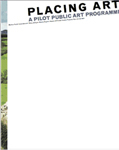 Placing Art Pilot Public Art Programme cover