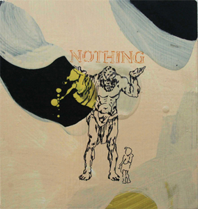 Atlas Lifting Nothing by Tinka Bechert
