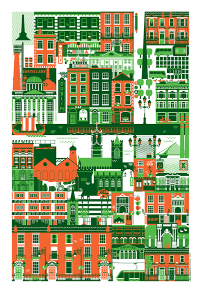 Linda Fahrlin - Dublin Illustration