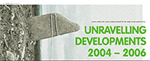 Unravelling Developments commission series launch brochure cover